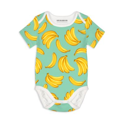 Bodysuit Manga Curta Bananas