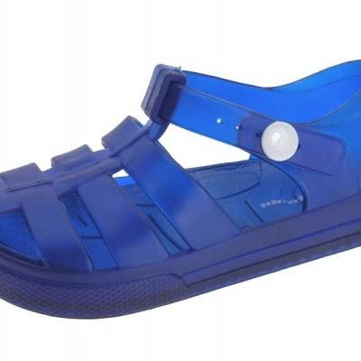 Sandália em Borracha - Azul