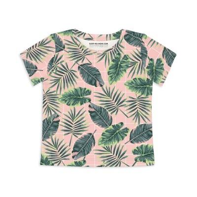 T-Shirt Manga Curta - Tropical