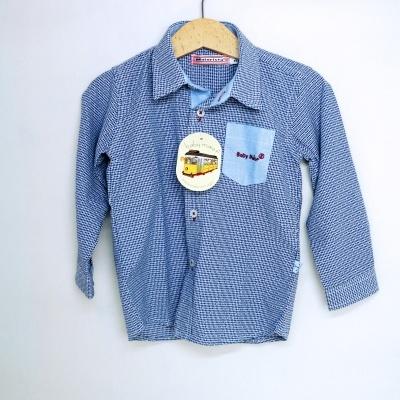 Camisa Menino c/ Bolso Contraste