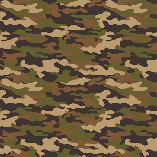 Army Camouflage - Verde