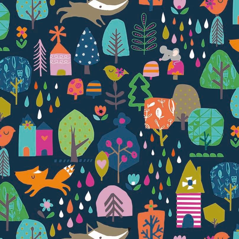 WALK IN THE WOODS - floresta fundo marinho
