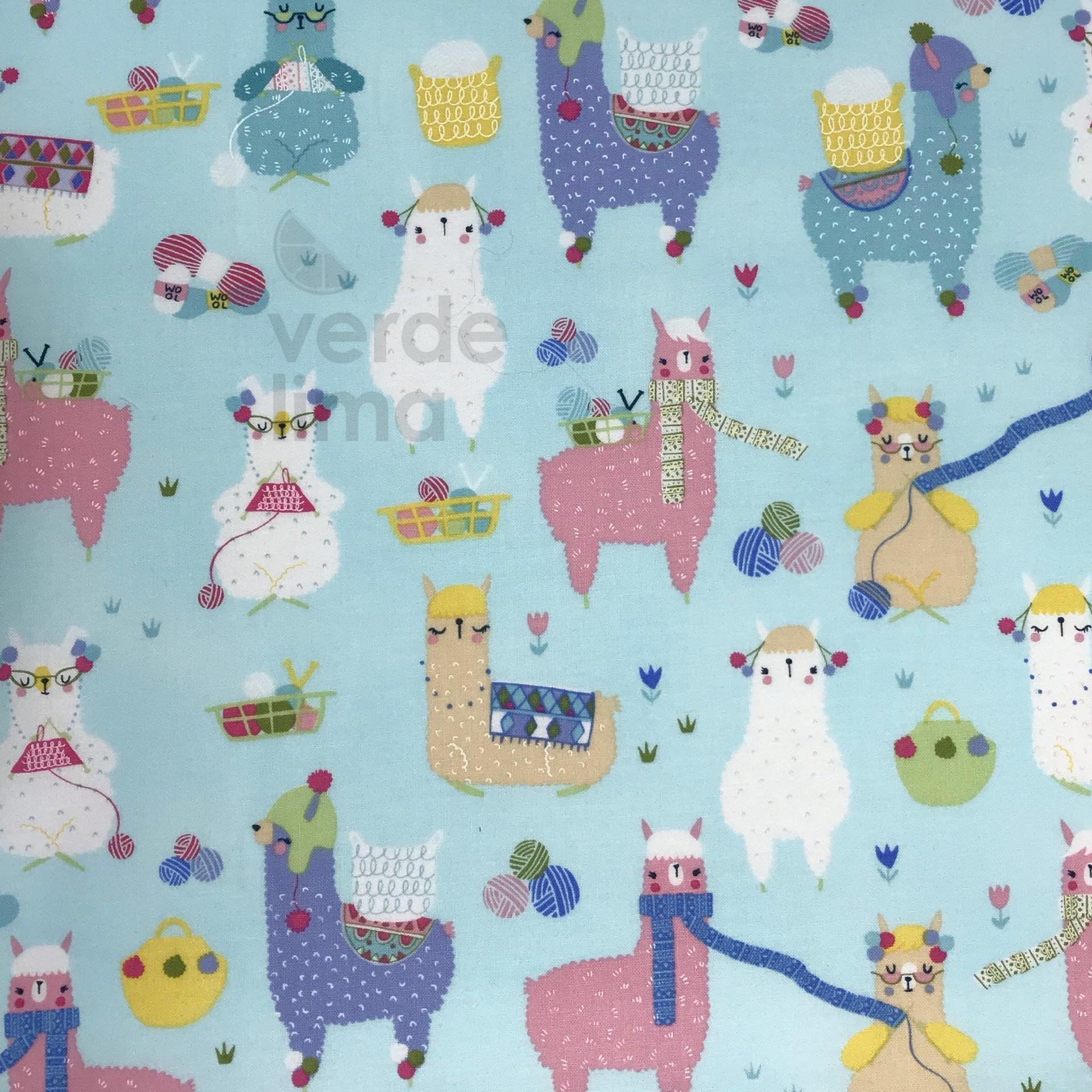 Knitting llamas