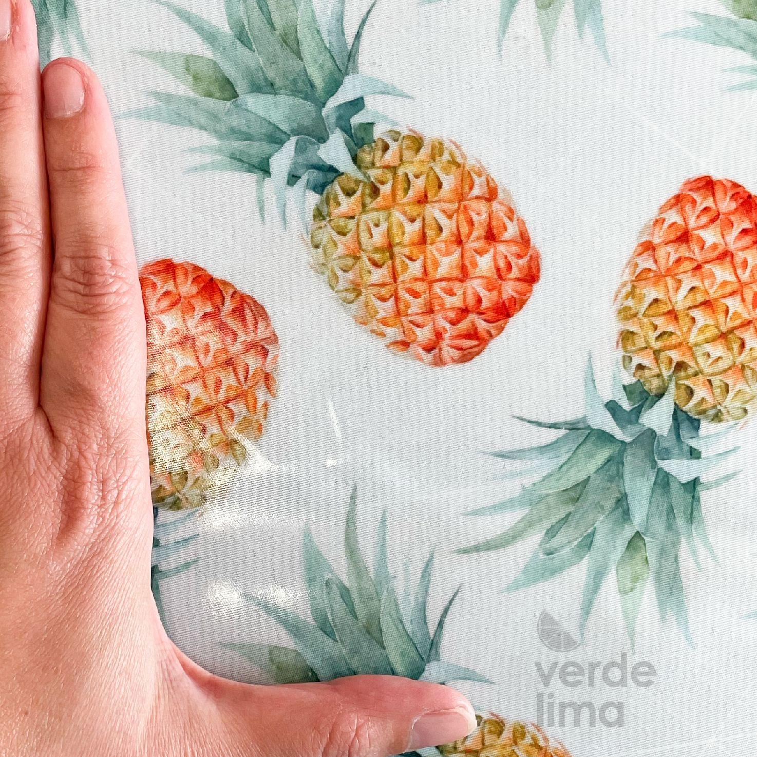 Ananases em aguarela (plastificado)