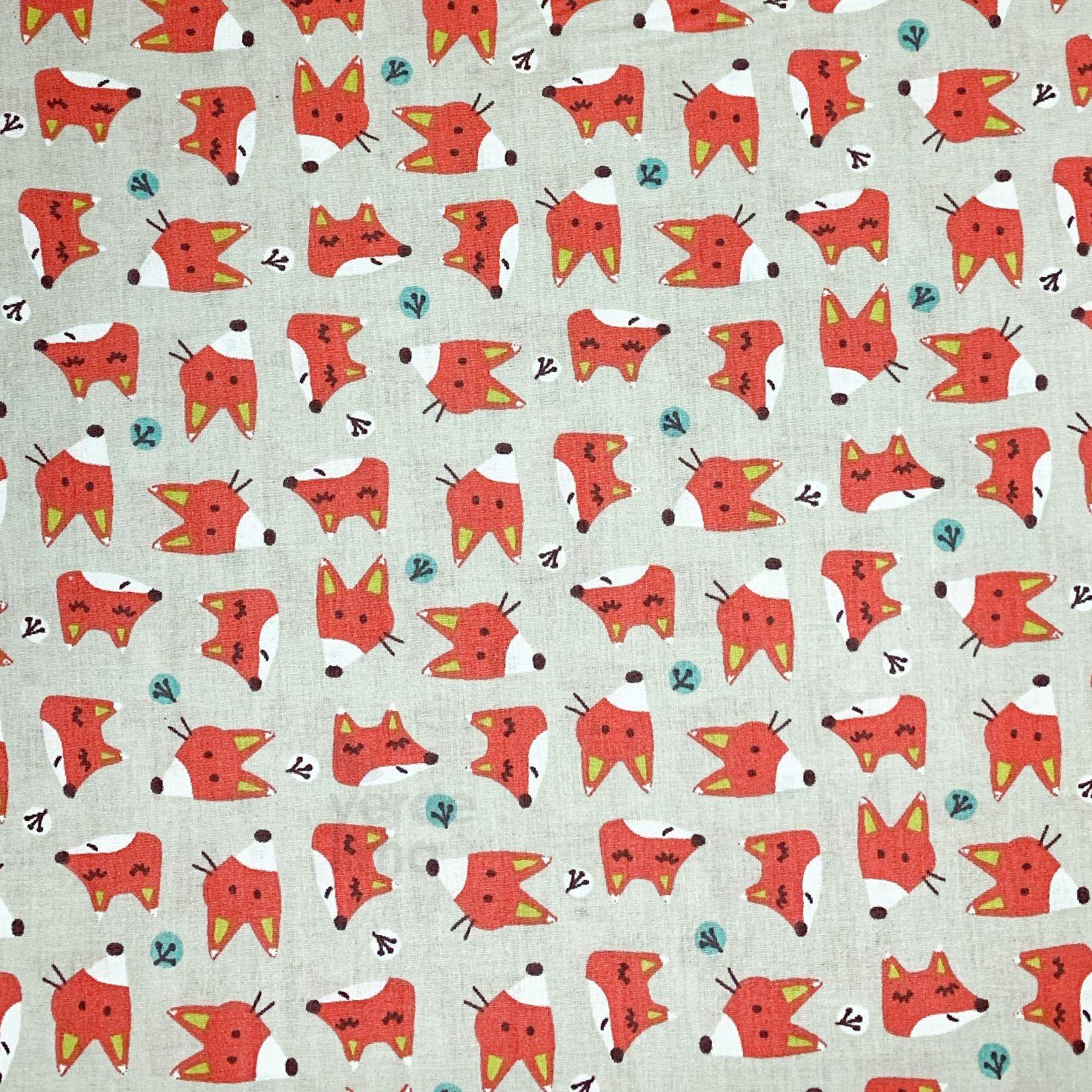 Foxy fox - heads