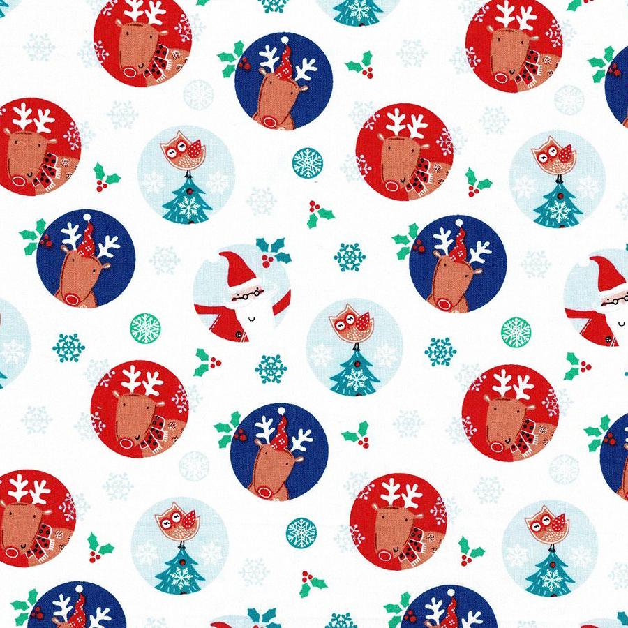 Santa Reindeer-Circles