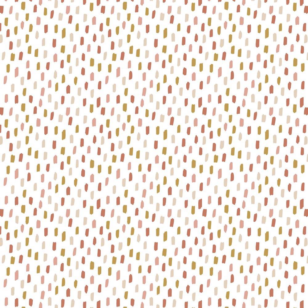 Rainbow - Salpicos branco com rosa
