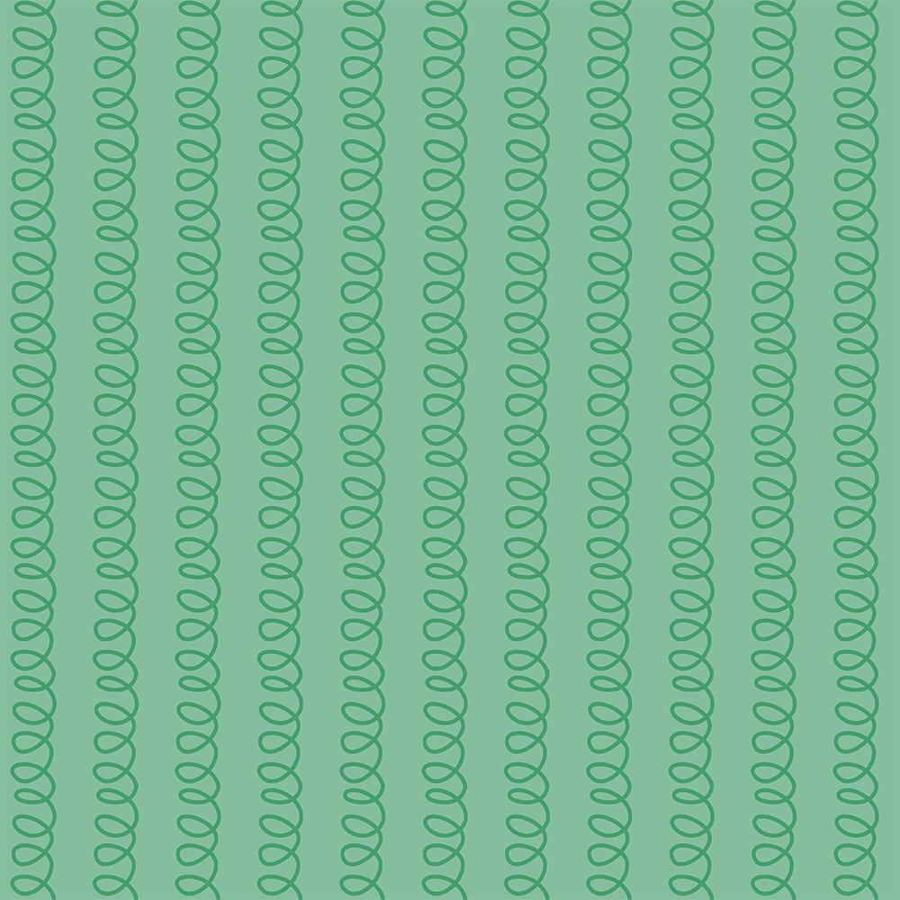 Selva Colorida - molinhas verde