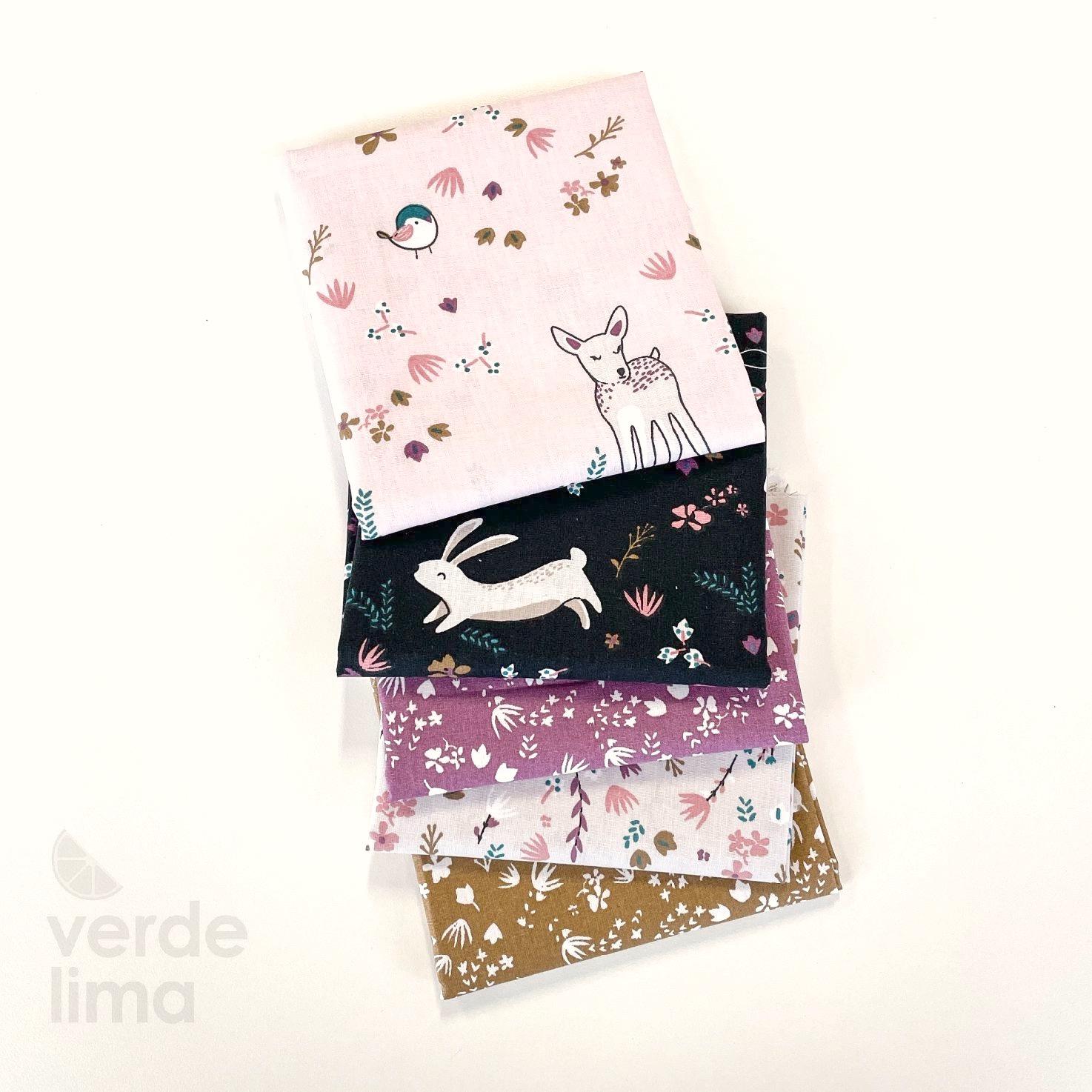 Pack de tecidos - Bosque Encantado