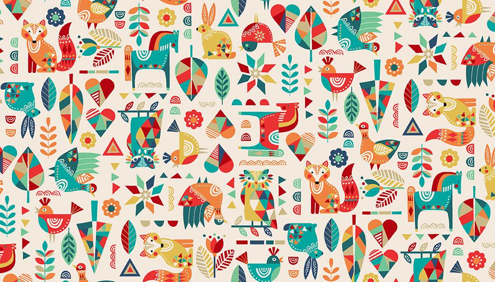 Folk Friends - Animals