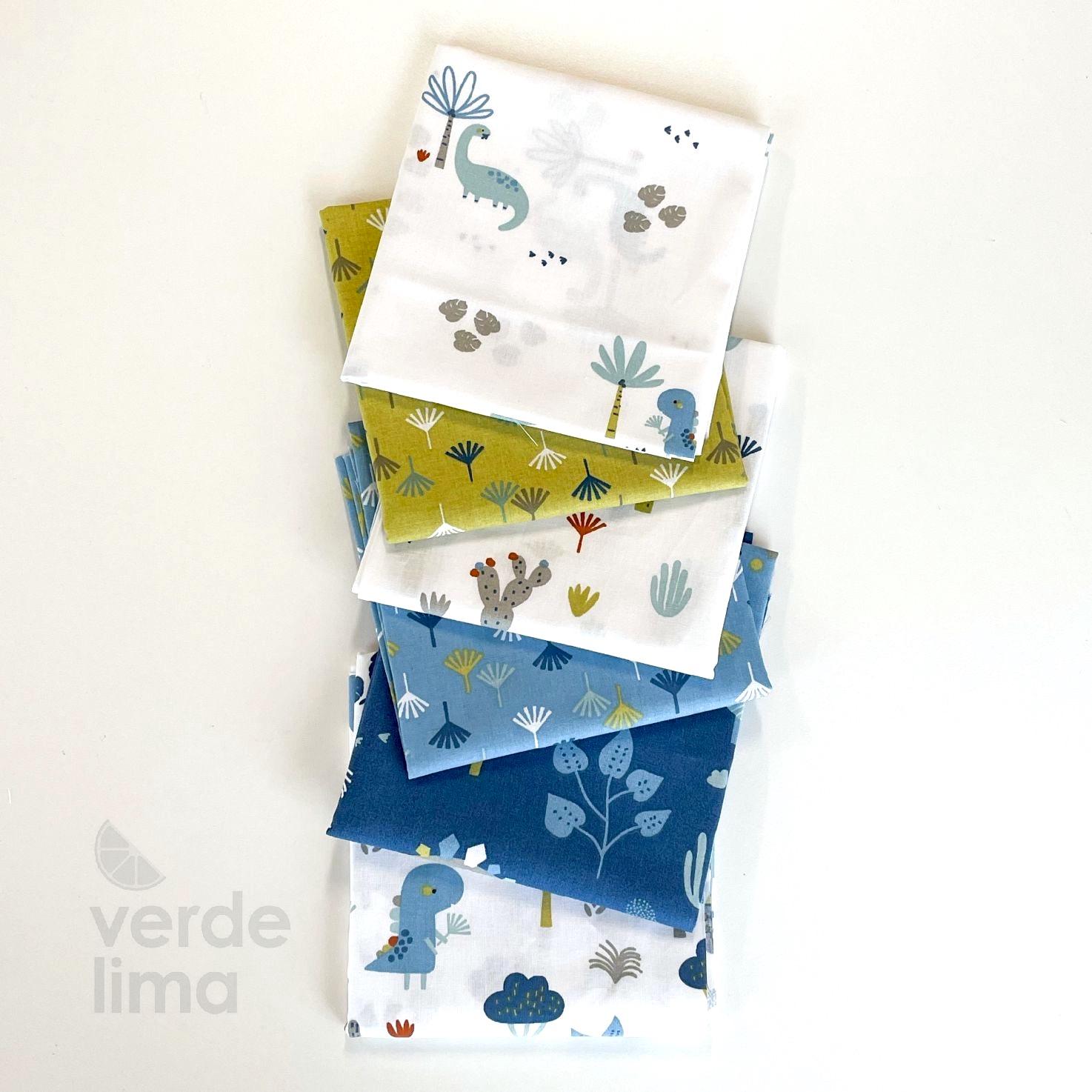 Pack de tecidos - Dinoland