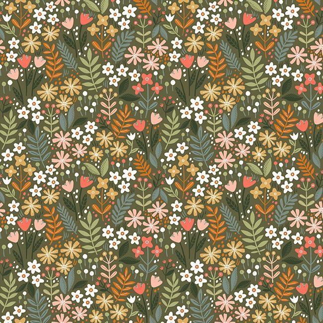 Flowers Field - Verde