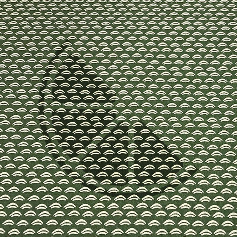 Traços fundo verde