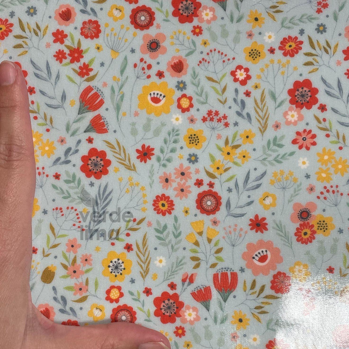Mini flores (plastificado)
