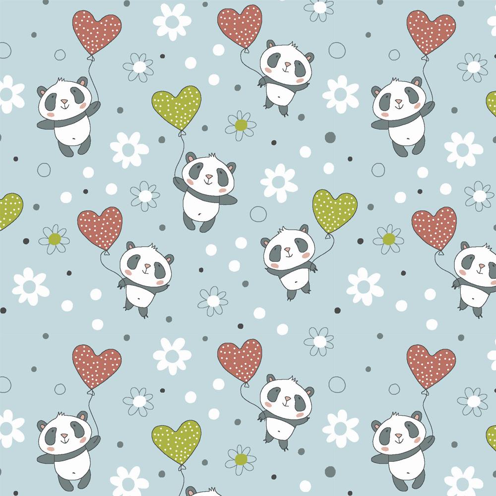 Pandinhas - Pandas com balões