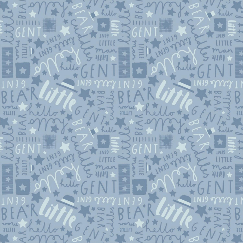Big Bear Cuddles - Blue Little Gent