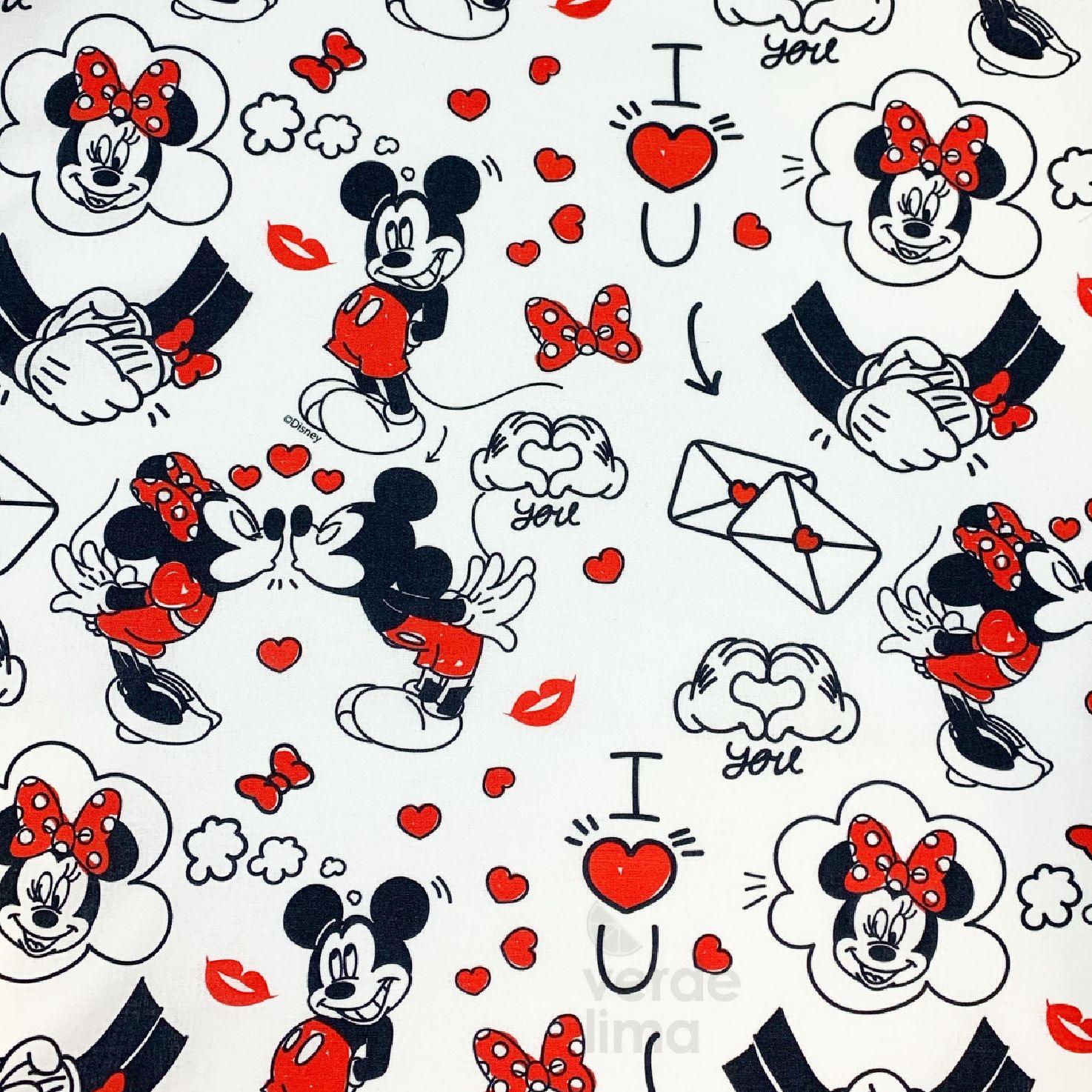 Mickey e Minnie - I love you