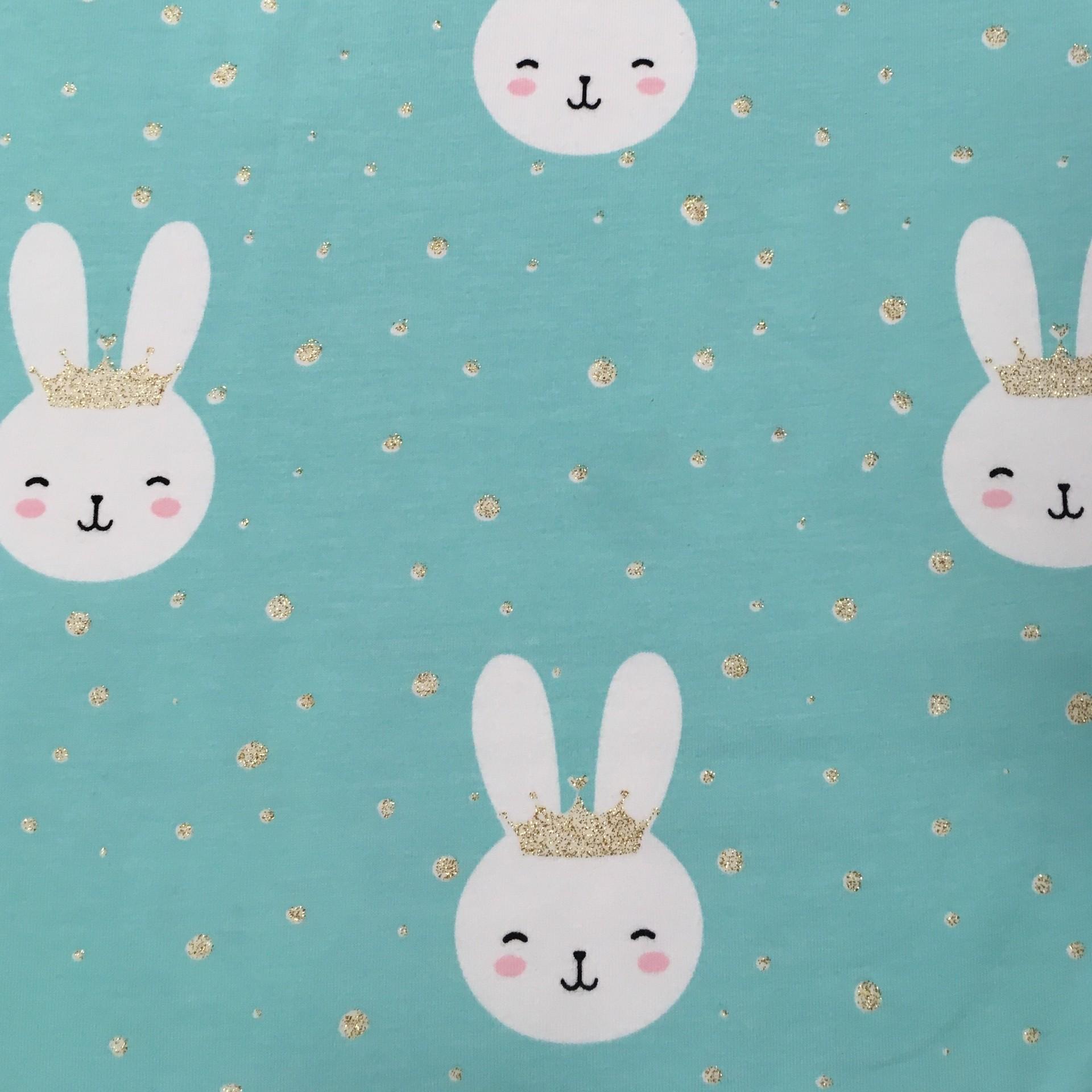 Malha Jersey - Princess Rabbit