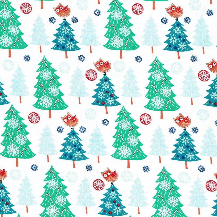 Santa Reindeer - Christmas tree owl