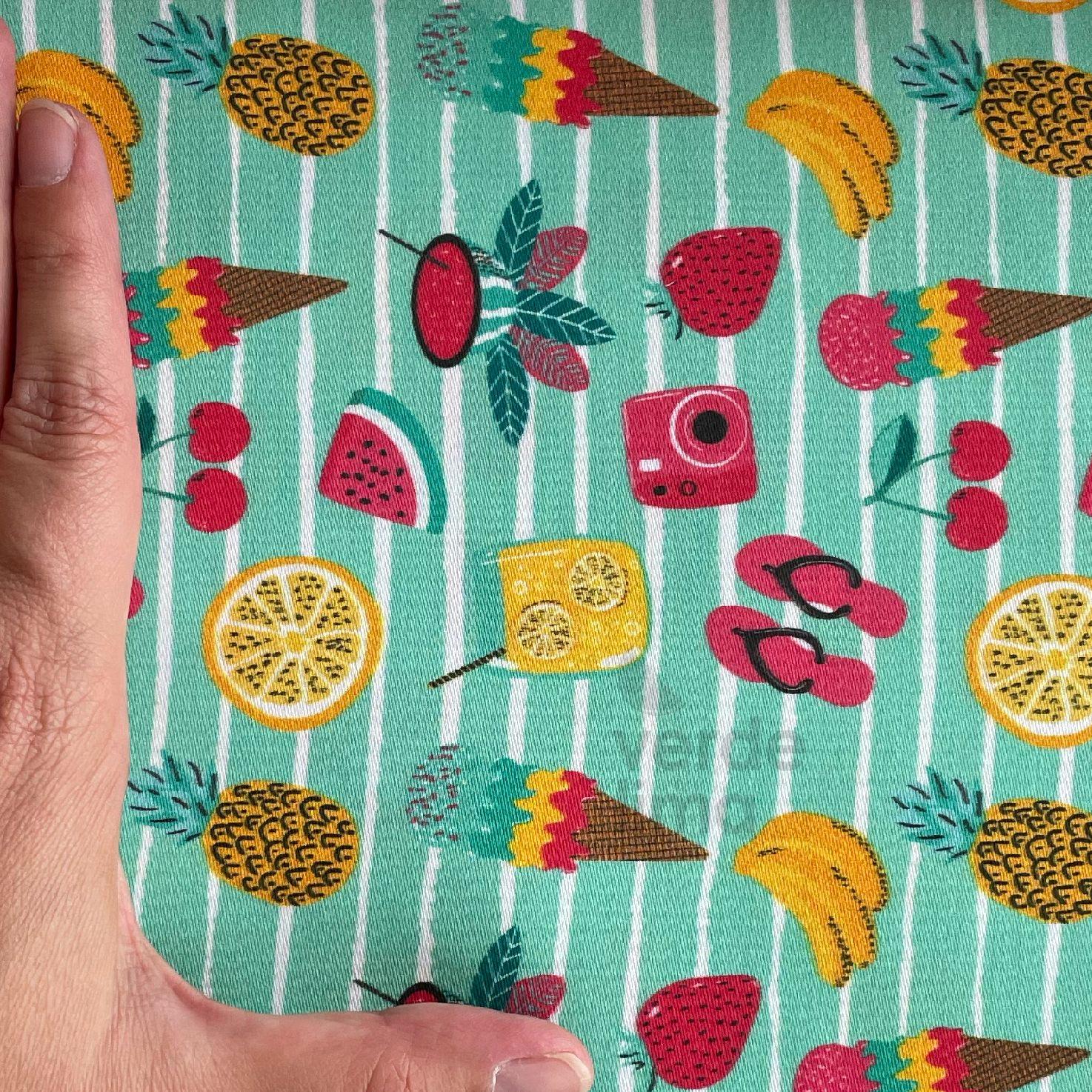 Fruity Summer - Frutas e gelados