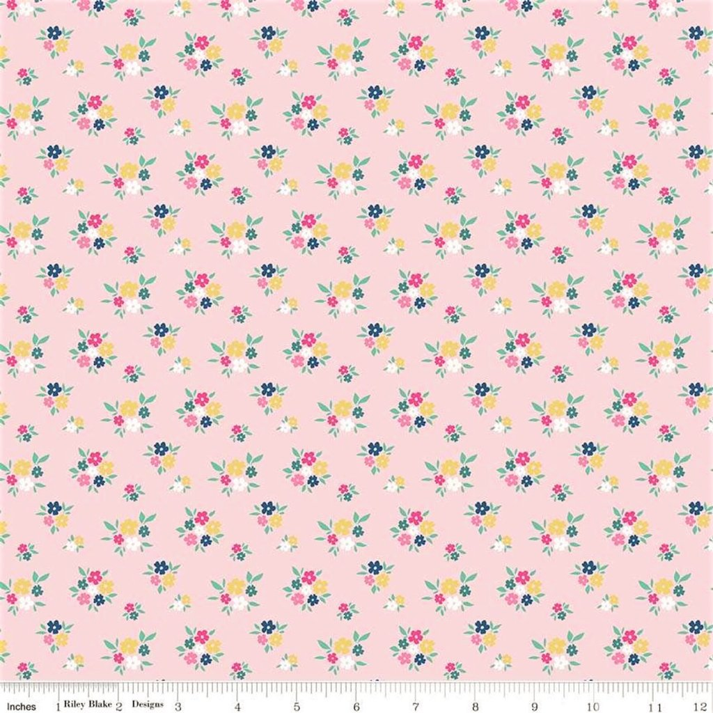I'd rather be glamping - flowers pink