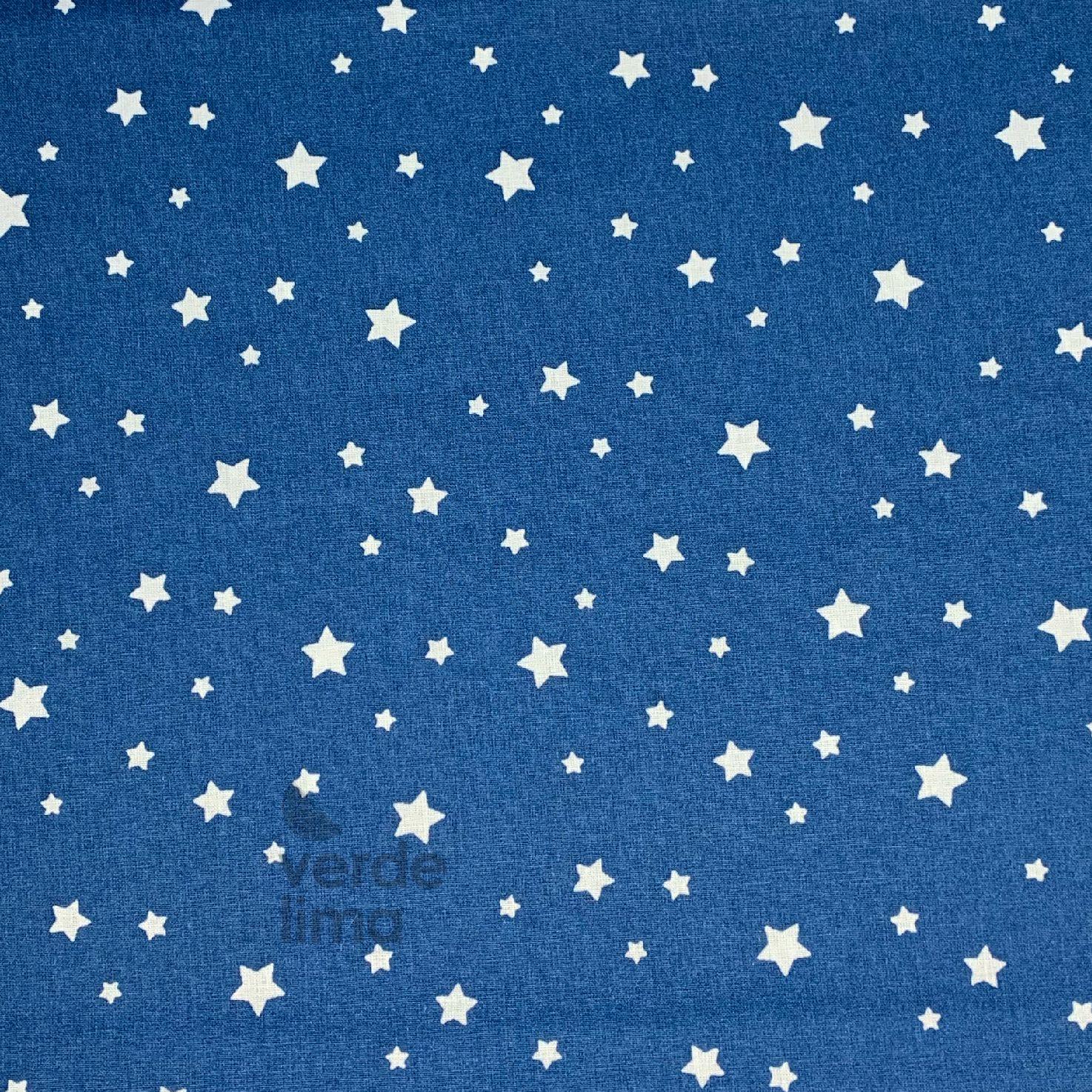 Estrelas fundo azul Indigo