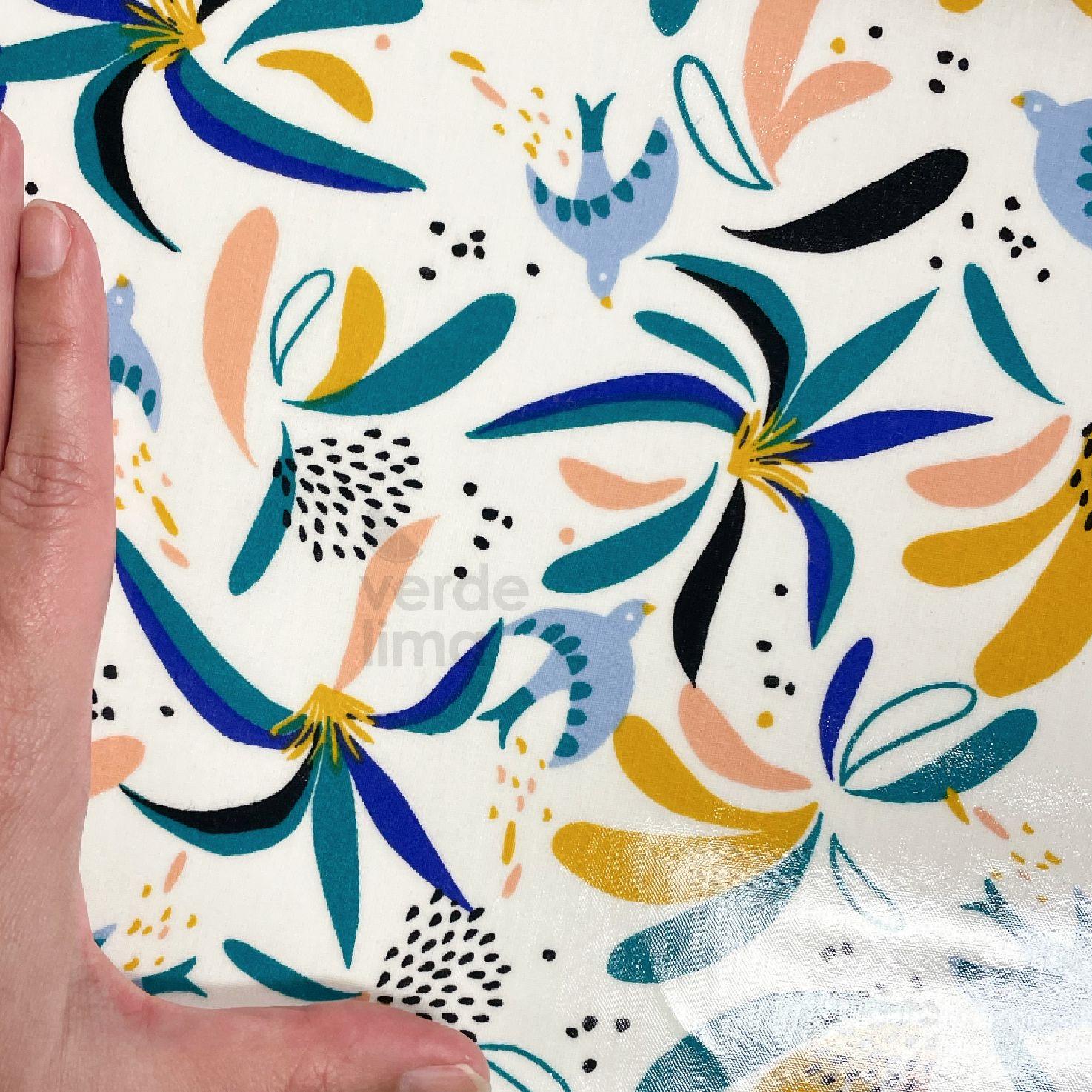 Flowers and birds (plastificado)