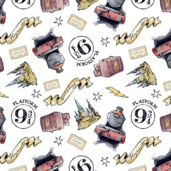Harry Potter - Platform 9 3/4 white