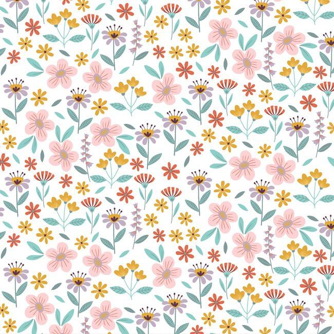 Flowers Buzz - Branco