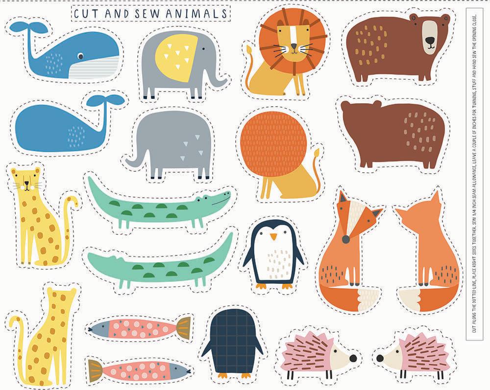 Habitat - Cut and sew animals