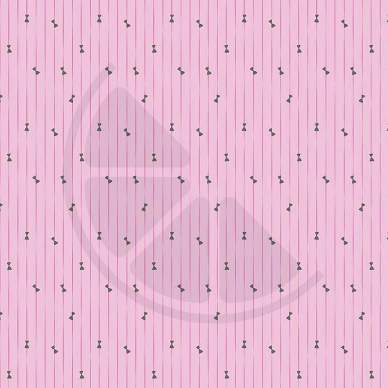 Ballerina Bow - Riscas rosa