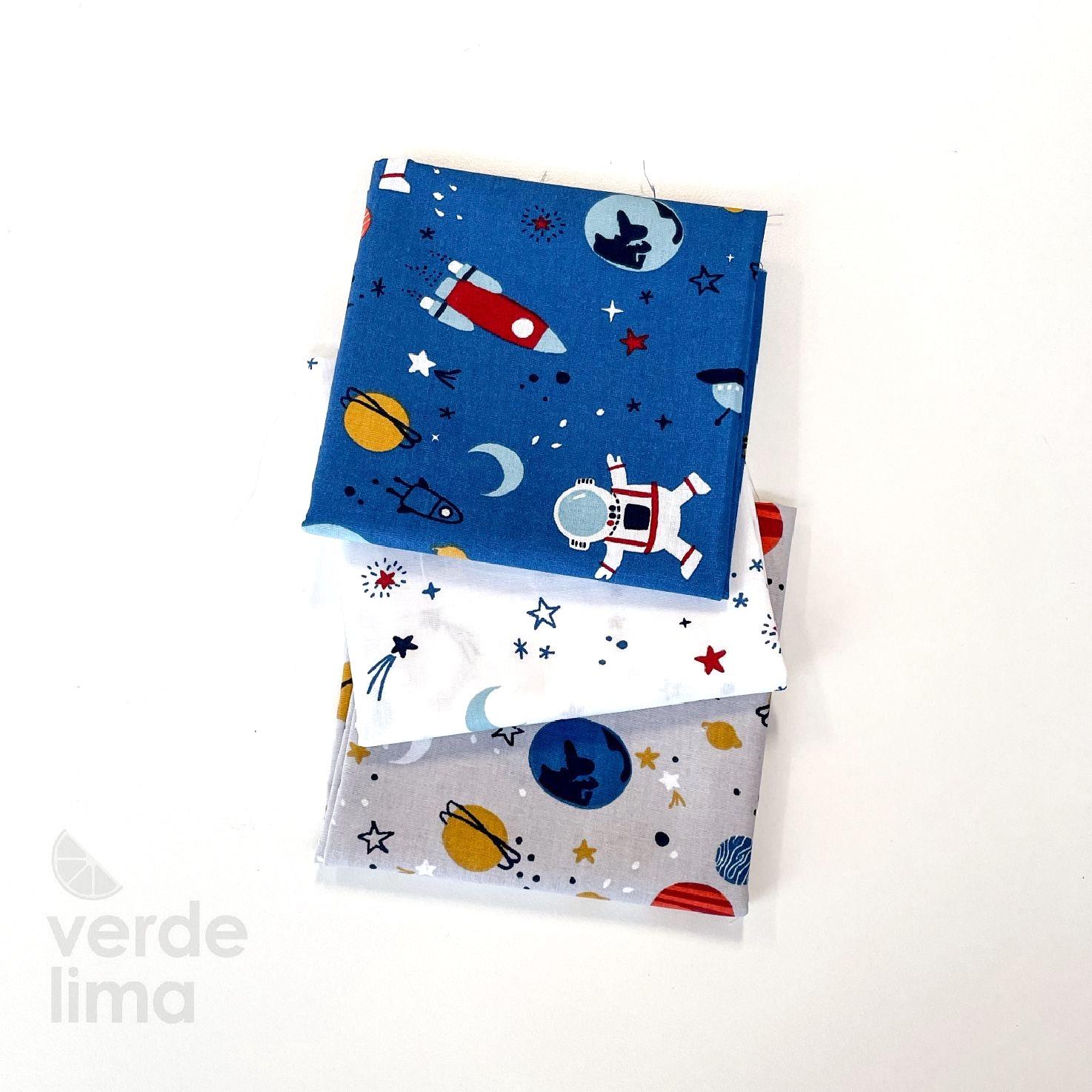 Pack de tecidos - Aventura no espaço