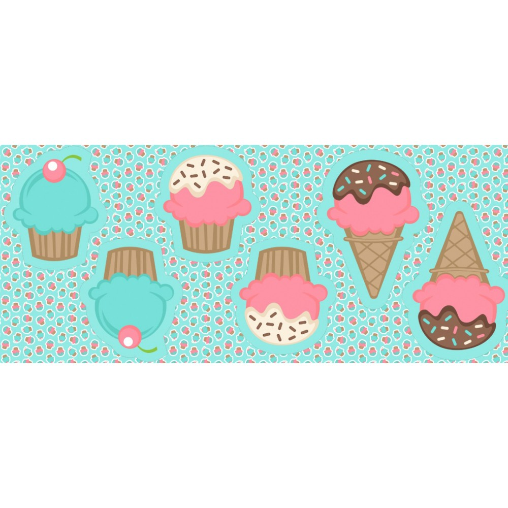 Pillows - Cupcakes e gelados