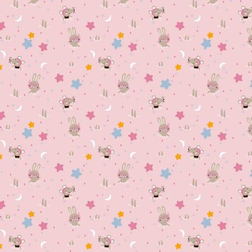 Swimming Animals - Rosa (Com Glitter)