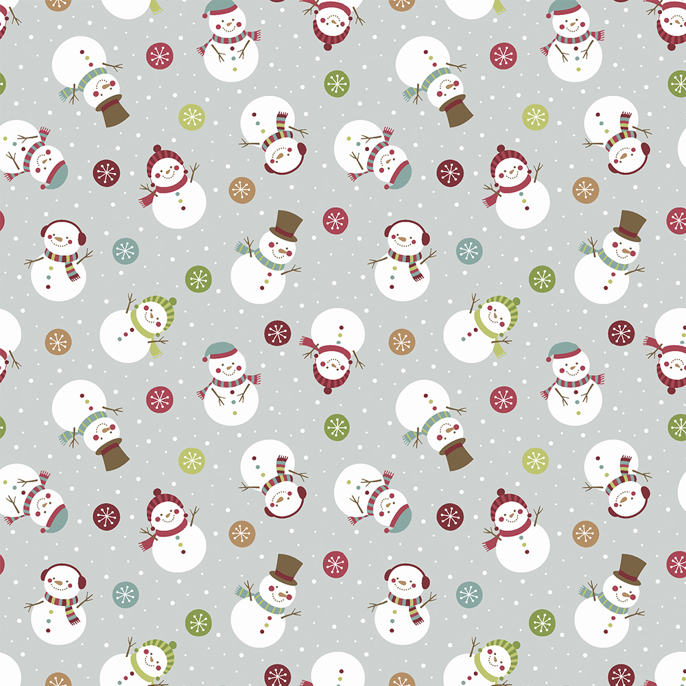 Candy Christmas - Bonecos de neve