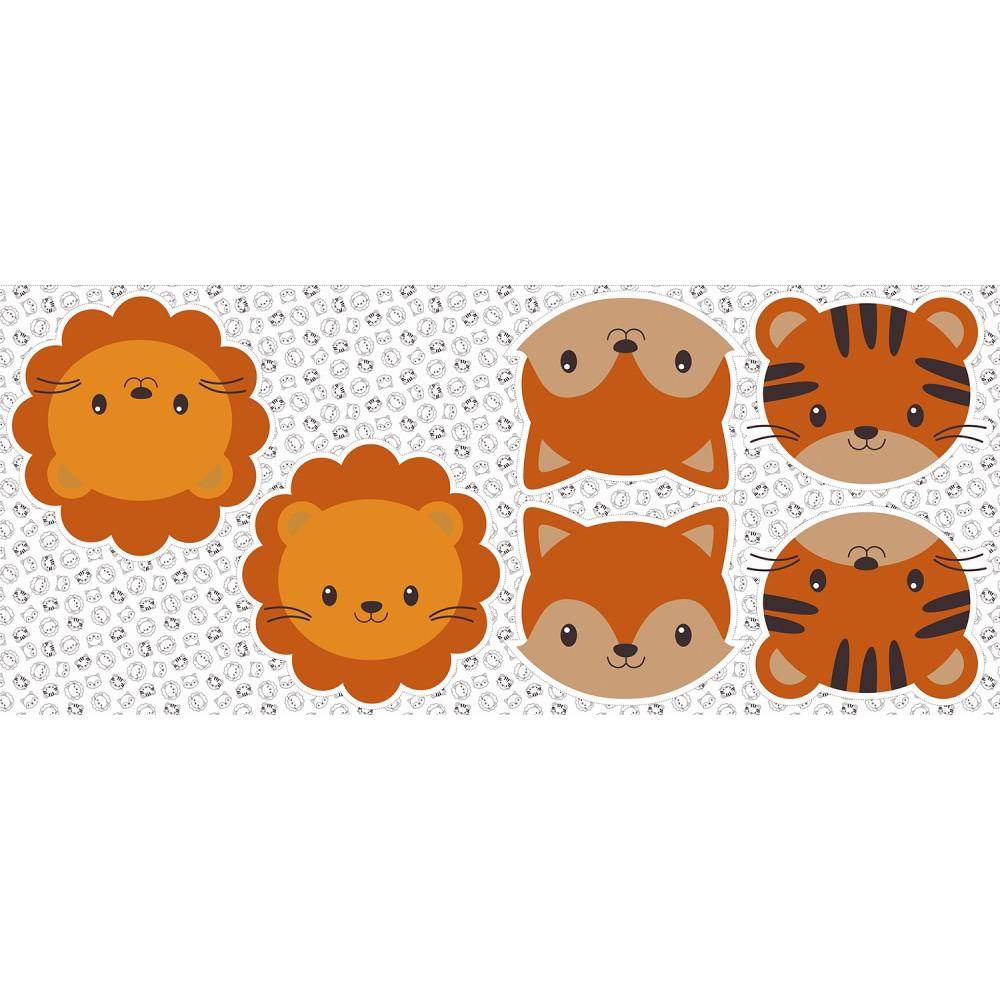 Pillows - Raposa, Leão e Tigre