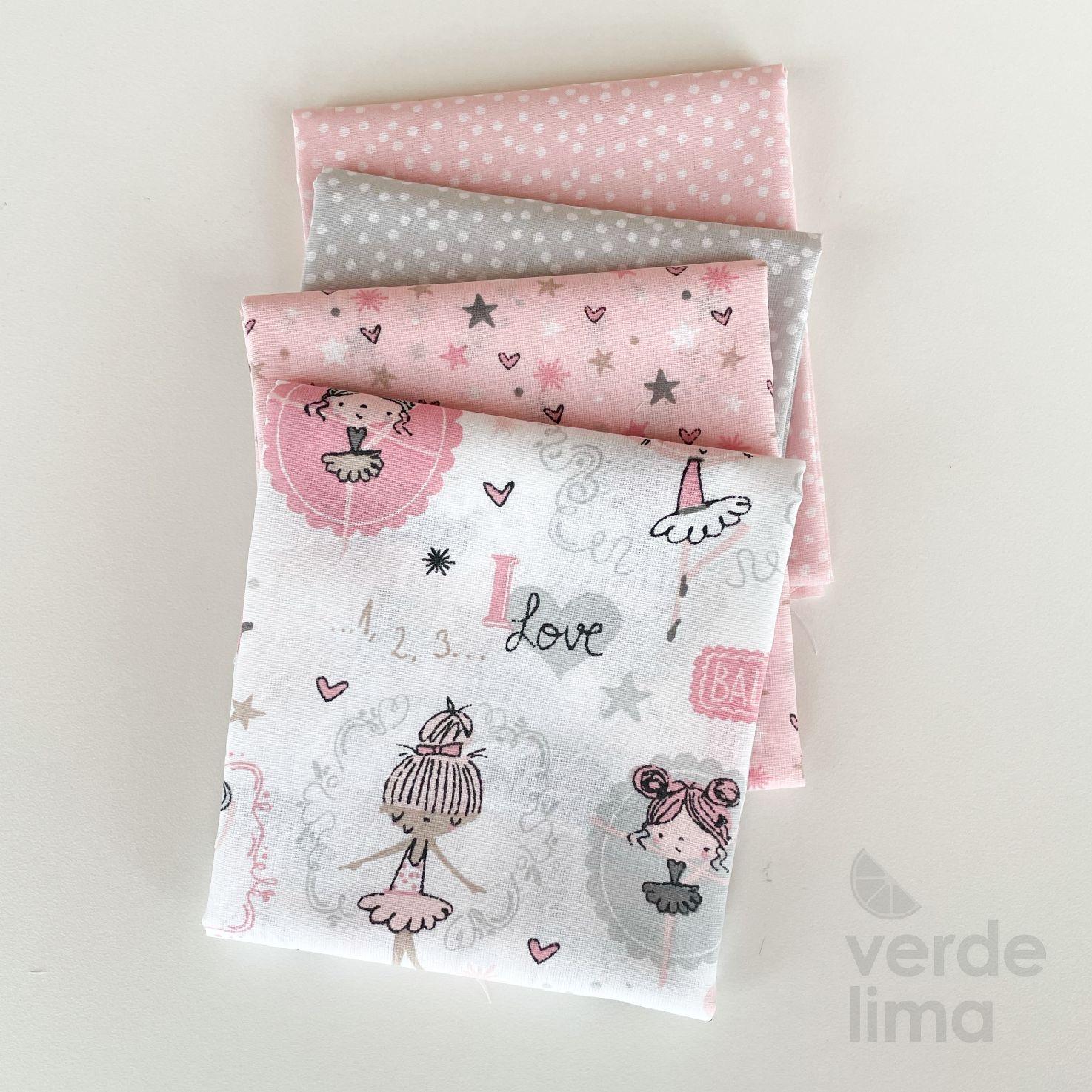 Pack de tecidos - Ballet