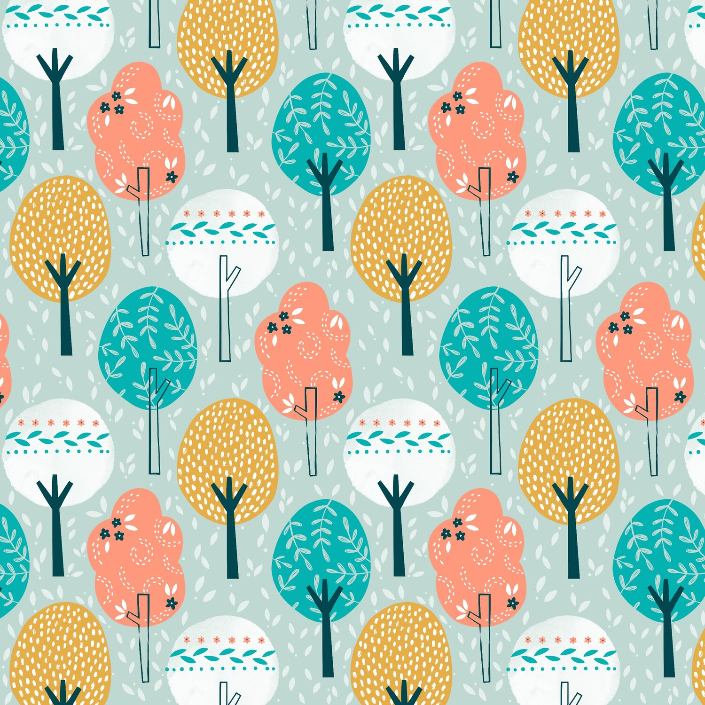 Summer Breeze - Trees