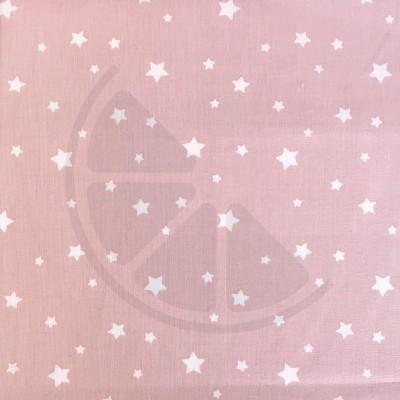 Estrelas fundo rosa velho