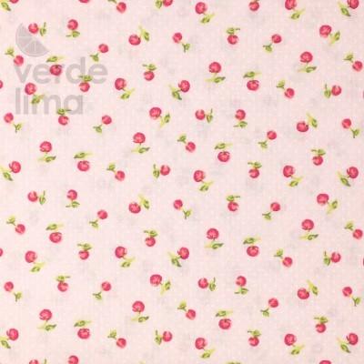 Cherry berry - fundo rosa