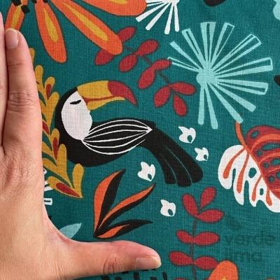 Pack de tecidos - Tropical Jungle