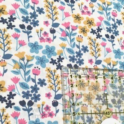 Flores do campo - tons turquesa