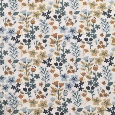 Flores do campo - tons azuis
