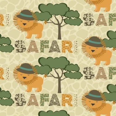 Signature Safari - Leão e Árvores