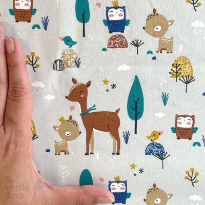Pack de tecidos - Forest kingdom