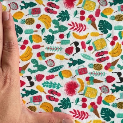 Fruity Summer - Summer fundo branco