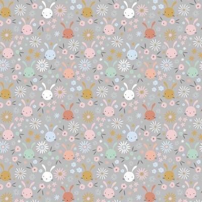 Sweet bunny heads - Cinzento
