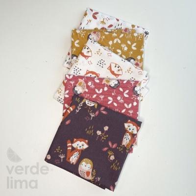 Pack de tecidos - Fox and Owl
