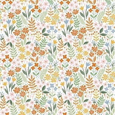 Flowers Field - Branco