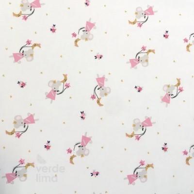 Fairy rabbit - little mouse
